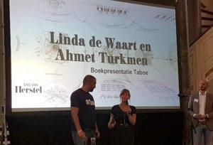 Taboe Linda de Waart Ahmet Turkmen boekpresentatie