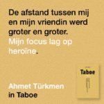 Taboe Linda de Waart Ahmet Turkmen