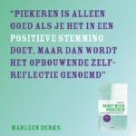 Nooit meer piekeren Marleen Derks