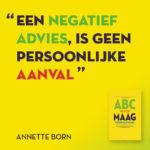 ABC van de maagverkleining Annette Born