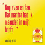 Zout Water Annelies Vette