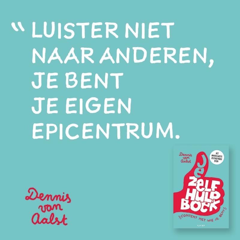 Jezelfhulpboek Dennis van Aalst