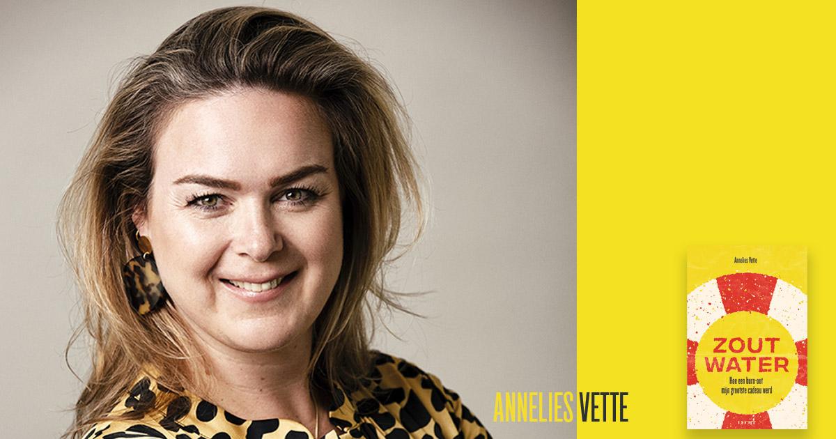 Annelies Vette leest voor uit Zout water: Wie ben jij?